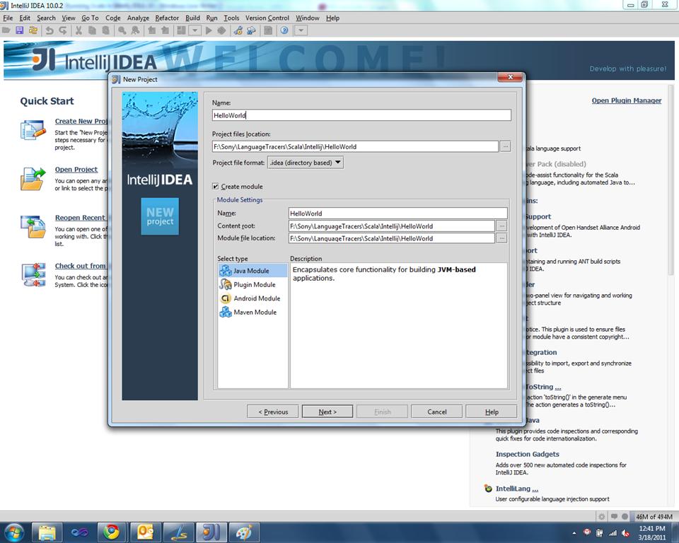 Running Scala in IntelliJ IDEA 10 | Sony Arouje
