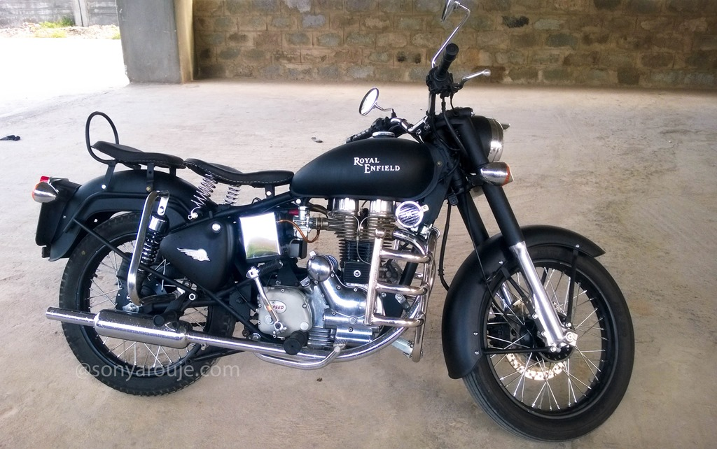 My Modified Royal Enfield Electra 5s Sony Arouje
