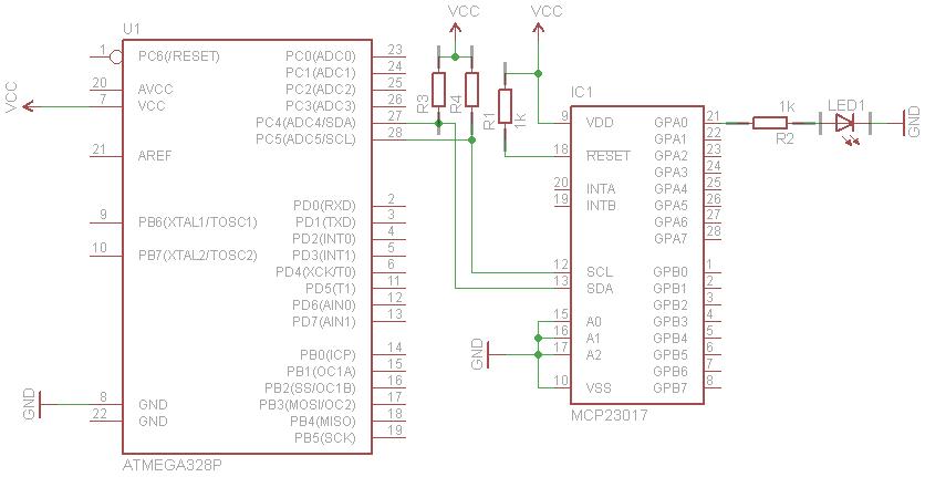 Digital I/O Expander for Arduino | Sony Arouje